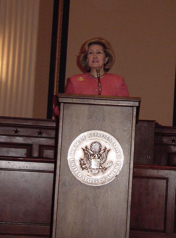 Senator Kay Bailey Hutchinson (R) Texas