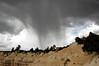 Thunderstorm arrives, between Fairyland and Sunrise Points,  Bryce National Park, Utah, 5 September 2006
