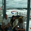 Ahto, Kai, Benno Heathrow lennujaamas