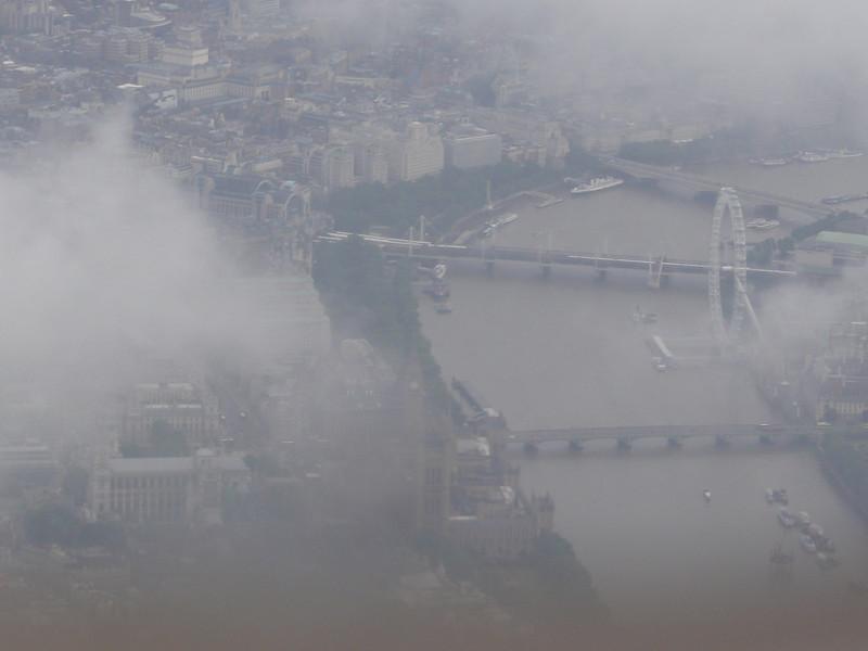 Vaade Londonile lennukist