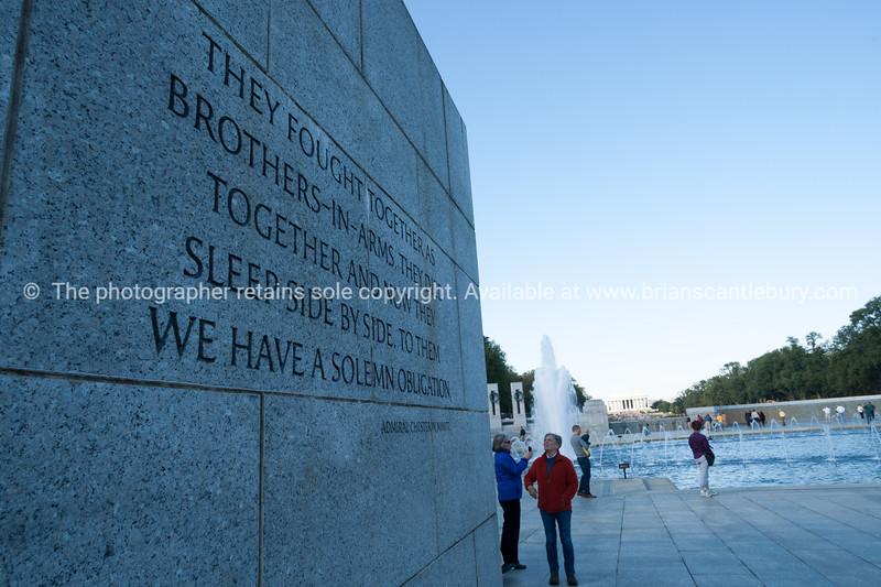 World War 11 memorial, Washington DC