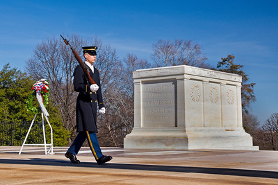 Grave of the unknown soldier