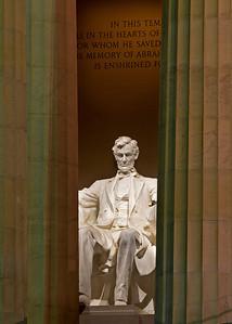 Lincoln Memorial colour
