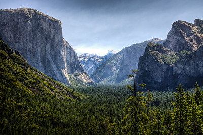Yosemite Valley morning view