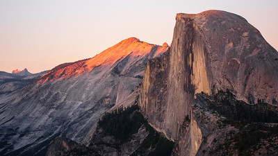 Half Dome and Echo Peak