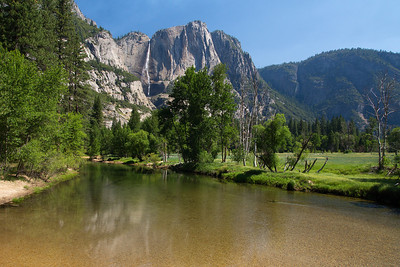 Upper Yosemite Falls, Merced River