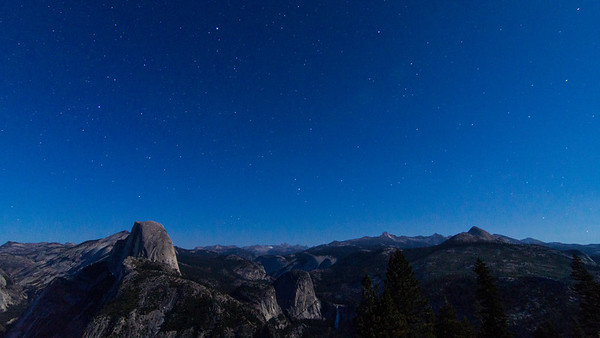 Halfdome night