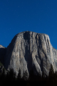 Climber on El Capitan