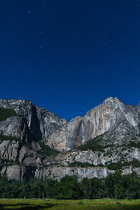 Yosemite Falls and the Big Dipper