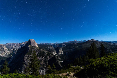 Glacier point night