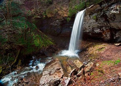 Upper hill creek falls