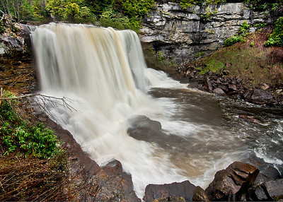 Blackwater falls state park: Blackwater falls
