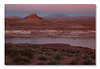 Lake Powell (Glen Canyon, Page AZ). <br /> We arrived late and drove along the shore. BEAUTIFUL. Cecile, thank you!