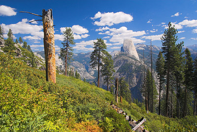 From Panorama Trail, Yosemite September 2006.