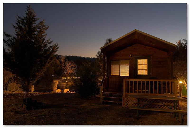 Our Cabin in Groveland, California.