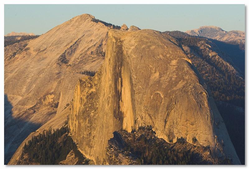 Half Dome from Sentinel Dome, Yosemite September 2006