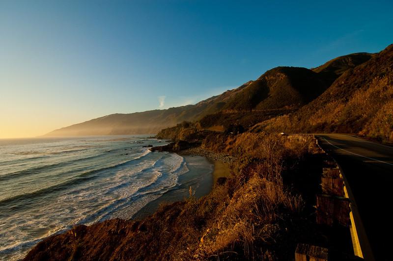 Between LA and Monterey