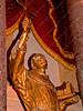 USA - DC - Capitol - dome - interior - Junipero Serra statue