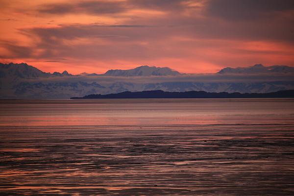 USA-Alaska  Turnagain Arm near Anchorage