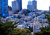 USA - CA - Bay Area - San Francisco - Coit Tower - panorama