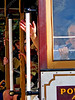 USA - CA - Bay Area - San Francisco - cable car - straphangers