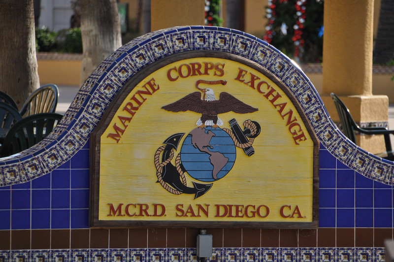 Almost 51 years ago I came to MCRD boot camp, and my Beautiful Bride wouldn't be born for 5 years later. Life is great!