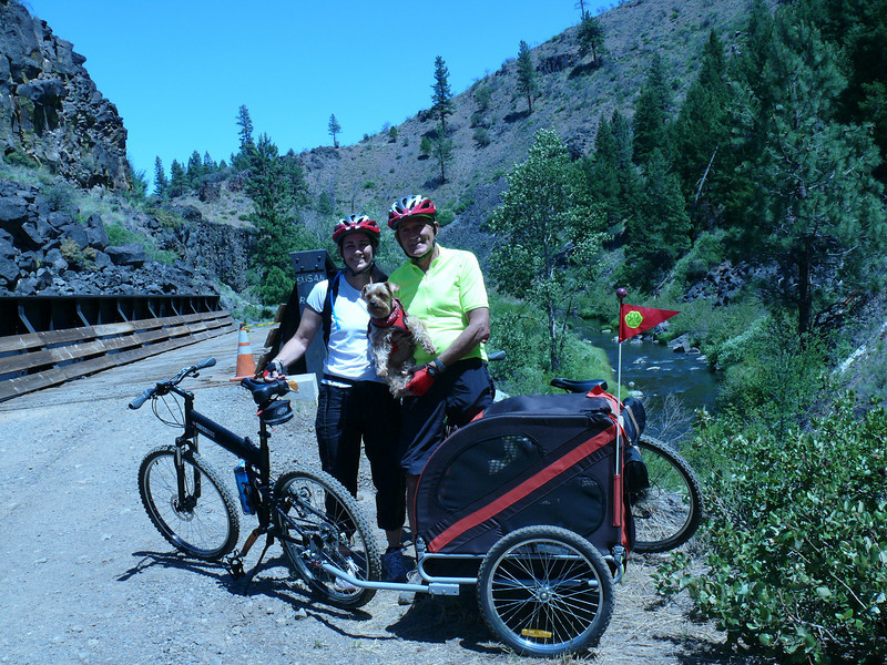 Susanville, CA nice place for a bike ride.<br /> To bad the tunnels were blocked for repairs.