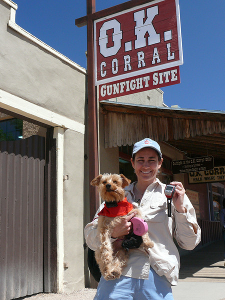The OK Corral, must be Tombstone, AZ