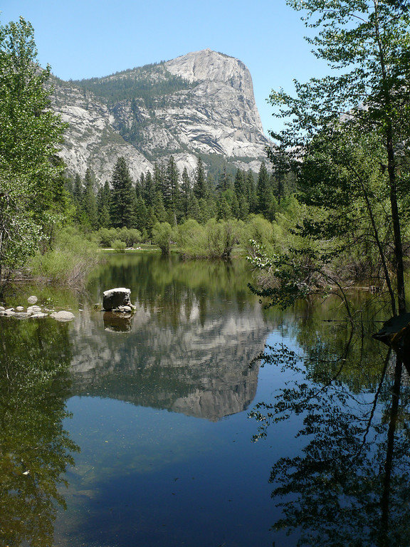 When we came through the last tunnel and saw this view<br /> Cheryl was over-whelemed!!<br /> This is the only place we have been to so far where around the next turn you just have to hold your breath it is so beautiful!!<br /> Yosemite!!