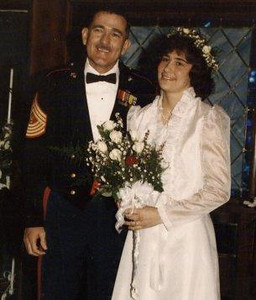 Feb 16th 1985 aboard the HRMS Queen Mary...2 Marines are married..........US!