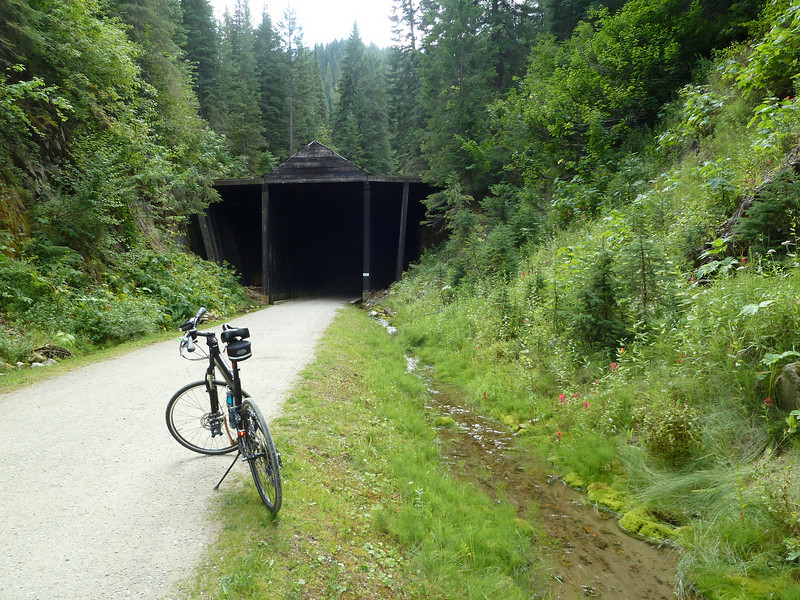 Entrance to The Tunnel,  8,771 feet of total blackness AWESOME!