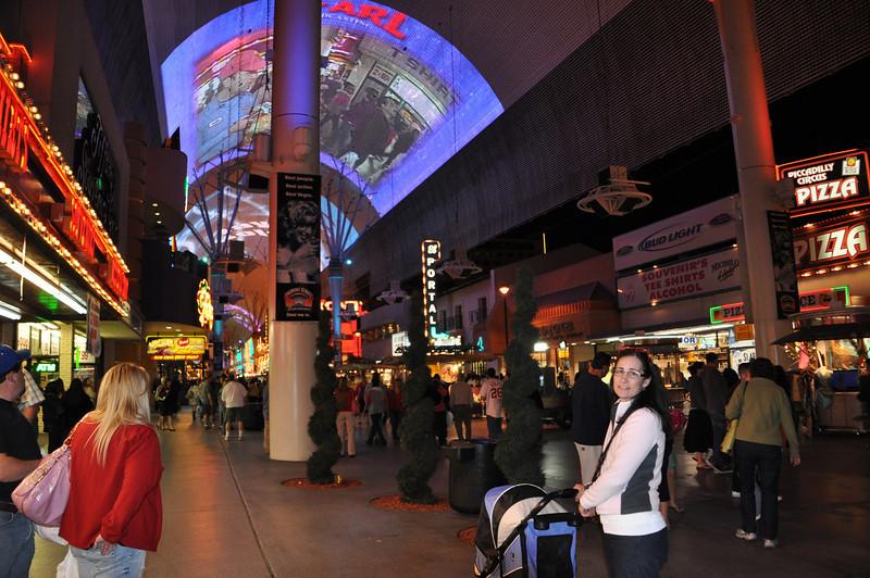 Cheryl and Shadow, Freemount St., Las Vegas, NV