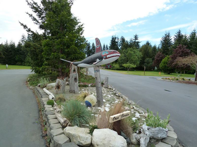 Entrance to the SKP Park in Chimacum, WA