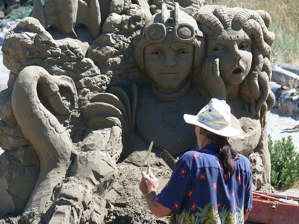 2010 07 Sand Sculpture Port Angeles