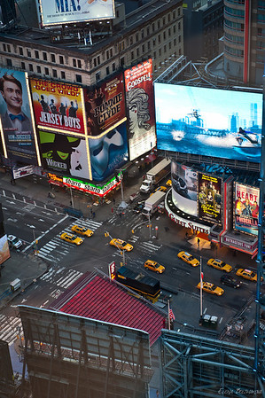 Times Square в пять утра