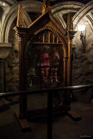 В Хогвардсе - зеркало желаний