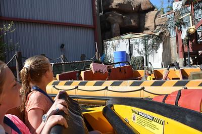 Emma Meg Mexico USA Trip October 2013 Universal Studios LA