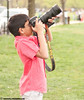 Ishaan focusing with approx 6-8lb Nikon D700+ 70-200VR lens
