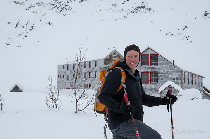 Dan at the Hatcher Pass