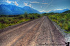 the McCarthy road - rather (in)famous- the road to Wrangell mountains- a 60+mile gravel road that used to be a railroad !When u finish, u can get a T-shirt saying I did MacCarthy !!