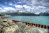Reach Seward. Resurrection bay at Seward, AK - called so as it was sighted by a Russian explorer on Resurrection Day/Easter Sunday sometime in 1700's