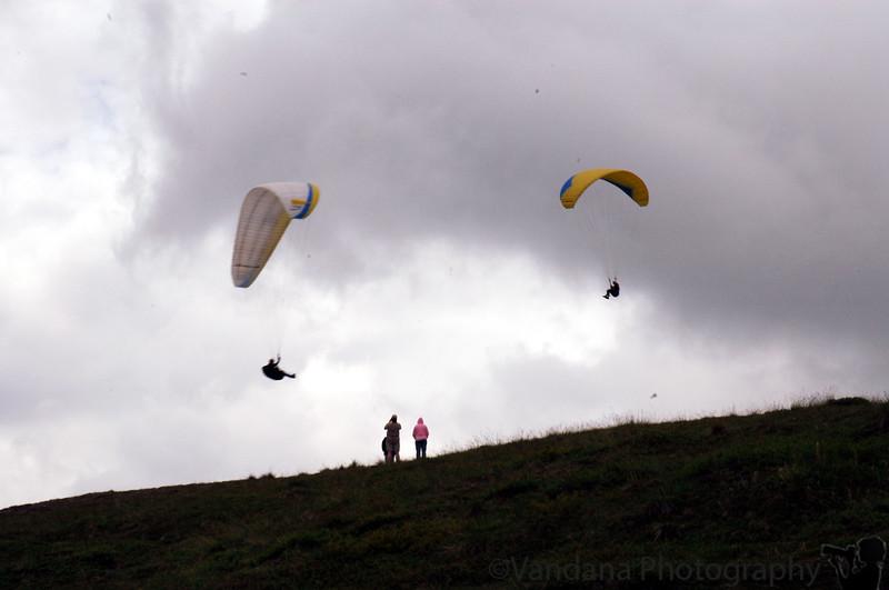 Paragliding in Hatcher Pass, Ak