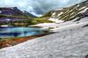 Summit lake, Hatcher pass