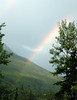 rainbow in Denali