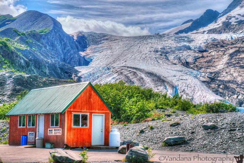 the Worthington Glacier, the roadside glacier