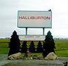 August 6, 2007 - Prudhoe bay<br /> Halliburton tries to joke