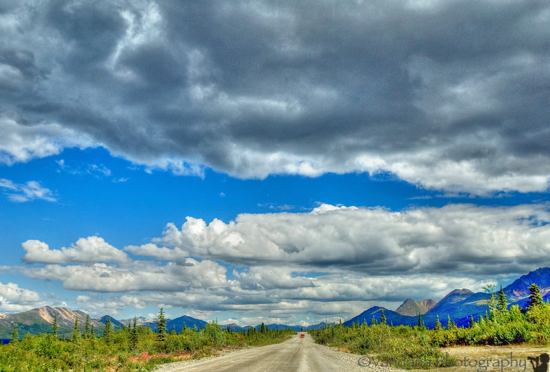 """On the Denali Highway - we take the longer road back to Anchorage. Rather than the George Parks Highway, the plan is to take Denali Highway , then connect to Richardson highway back to Anchorage ..a detour to see more of Alaska on the way !  Denali Highway may be Alaska's best kept secret - a gravel road with some of the most beautiful sights along the way. Some of Sean Penn's <a href=""""http://www.imdb.com/title/tt0758758/"""">Into the Wild</a> was filmed here, the crew set up camp at Cantwell, which is where Denali Highway meets Richardson Highway."""