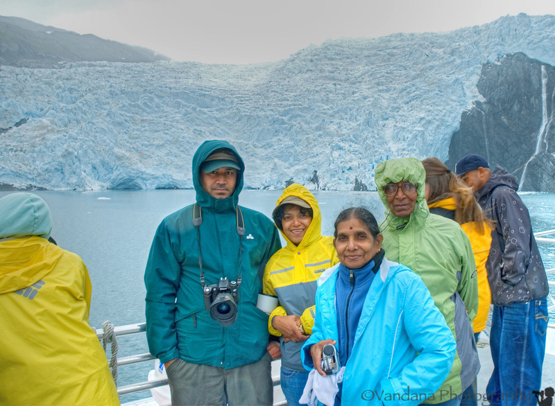 There's plenty of photo-ops as the ship lingers around the glacier for quite a while.