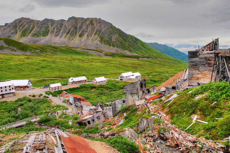 Independence mine.<br /> <br /> A nice day trip destination, decent hike with lots of historical value.