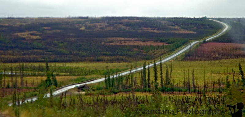 But its a long, long, unforgiving stretch that just goes on & on interminably into the tundra.